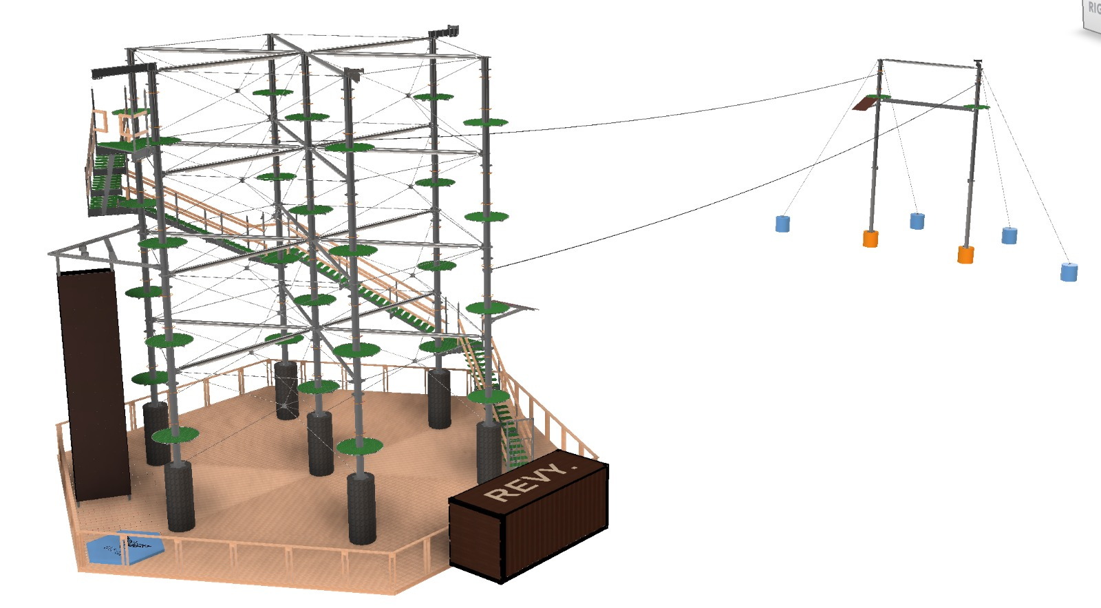 Revelstoke's New High Ropes Course Project