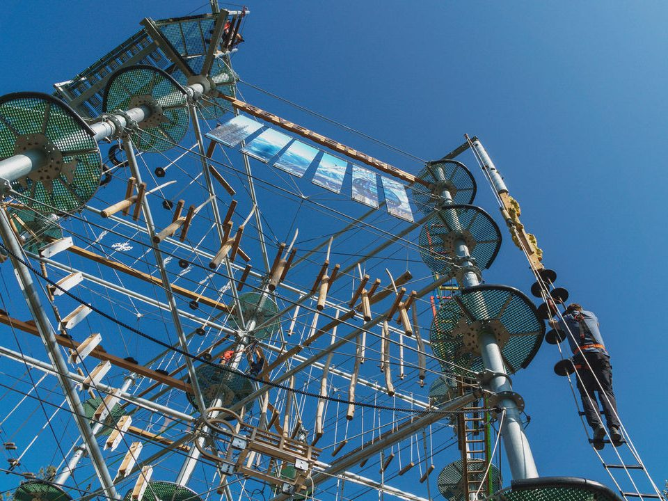 Revelstoke Aerial Attractions Ropes Course