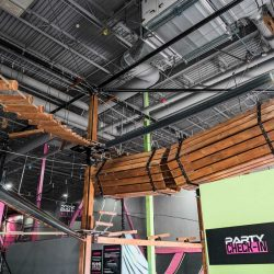 Flying Squirrel Ropes Course